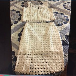 White House Black Market Dress Two Pieces Size 4